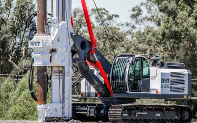 IMT A215 – First IMT Piling Rig to arrive in Australia